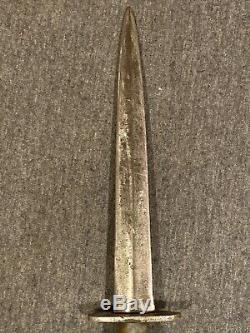 Original Vintage WW2 Fairbairn Sykes Dagger Fighting Knife England