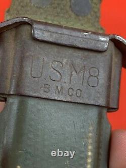 Original WW2 American M3 Fighting Knife Dagger Imperial USGI Commando