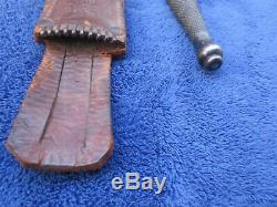 Original Ww2 Fairbairn Sykes Oss Dagger Fighting Knife L. F. &c. And M6 Sheath