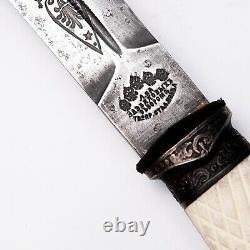 Plastun Cossack knife Dagger 1891 Zlatoust knife Sword Shashka sword Russian