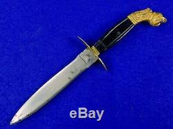 RARE Italian Italy WW2 Dagger Fighting Knife with Sheath