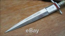 RARE Ornate Vintage UTICA CO. Germany GX 5169 MEXICAN STILETTO Dagger Knife
