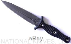 RMJ Tactical Raider Dagger Knife Black G-10 CPM-3V Blade Authorized Dealer