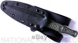 RMJ Tactical Raider Dagger Knife, CPM-3V Blade, Dirty Olive G-10 Auth. Dealer