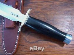 Randall Model 2-7 Ss Blk Fighting Stiletto Dagger New Knife Knives