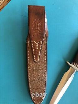 Randall knife Model 2 5 inch Stiletto Dagger Letter opener Boot