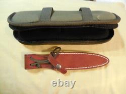 Randall knife Model 2 5 inch Stiletto Dagger Letter opener Boot Black Micarta