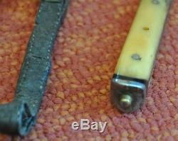 Rare Antique Chinese Knife, Dagger, Manchuria, China, Combat