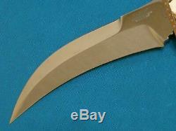 Rare By George Englebretson Okc Custom Stag Talon Bowie Knife Dirk Dagger Combat