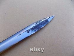 Rare Vietnam Era Orange Handle Gerber MK II Mark 2 Fighting Knife Dagger 1972