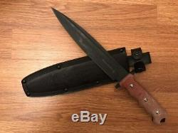 Russian combat knife Phoenix-kombat. Kizlyar knives