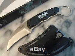 SOG Gambit Karambit Fixed Blade Claw Dagger Combat Hunter Boot Knife GB1001CP