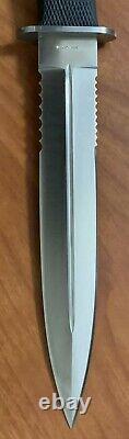 SOG Specialty S25 Seki Japan Desert Dagger Fixed Blade Knife & Sheath Circa 1991