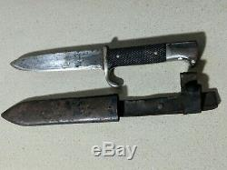 Solingen Ges. Gesch German WWII Knife Dagger 5 Fixed Blade Free S&H