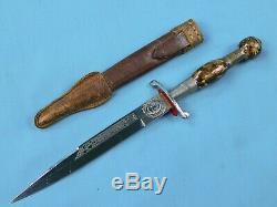 South American German Solingen Made Hidalgo Gentleman's Dagger Fighting Knife