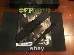 Spartan Blades Harsey Dagger Knife FDE Blade Black Handle S35VN Steel