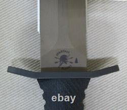 Spartan Blades Harsey Double Edge Dagger Knife 6 S35VN Flat Dark Earth Blade