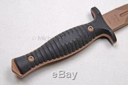 Spartan Blades V-14 Dagger Knife CPM S35-VN FDE blade / Blk G10 / Tan Kydex