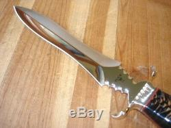 Superb B Anvil Custom Buck 981 Conifer Dagger Knife Serial 002 Showcase 976 USA