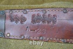 U. S. WW2 Case V-42 USS OMAHA commando fighting knife dagger REAL FSSF Navy Army