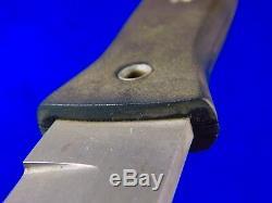 US 2002 BLACKJACK Blackmoor Tactical Fighting Knife Dagger with Sheath