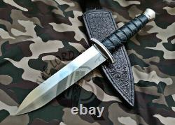 Ubr Custom Handmade D2-tool Steel Hunting Dagger Knife With Raizen Handle