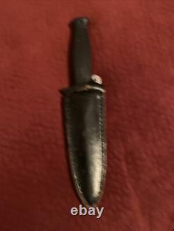 VALOR SEKI JAPAN DAGGER KNIFE&Sheath 794 VINTAGE