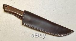 VINTAGE 1980 AL MAR BORDER PATROL SEKI JAPAN FIGHTING DAGGER KNIFE WithSHEATH