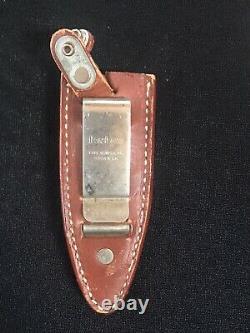 VTG Kershaw Kai Japan Special Agent Boot Dagger Combat Knife Mint Nice