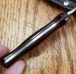 VTG RARE Remington USA Fixed Blade Boot Knife Dagger WithSheath Camillus NICE