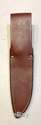 Vintage 1980 Al Mar Grunt 1 Fighting Dagger Knife DeOpressoLiber Green Berets
