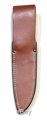 Vintage 1980 Al Mar Grunt 1 Fighting Dagger Knife Sheath Case Mint
