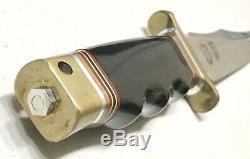 Vintage 1980 Al Mar SOF SOG Seki Japan Combat Green Berets Dagger Knife Sheath