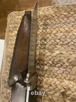 Vintage 1980 Al Mar Seki Japan 3004 Sere Fighting Dagger Knife Handmade Case