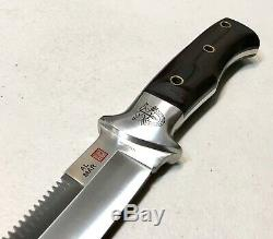 Vintage 1980' Al Mar Sere Seki Japan Fighting Dagger Knife Sheath