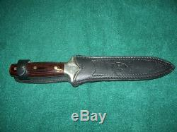Vintage 1980's JC Crowning knife Fighting Dagger Spain 440 Stainless 11 OAL