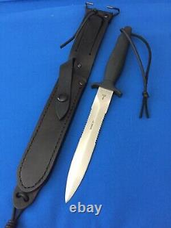 Vintage 1988 Gerber Mark II MK 2 Survival Fighting Knife ARMY Tactical Dagger A+