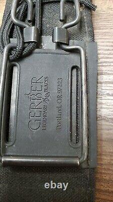 Vintage 1988 Gerber Mark II MK 2 Survival Fighting Knife Tactical Dagger Sheath