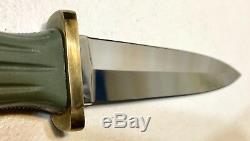 Vintage AL MAR Applegate Fairbarn Seki Japan Boot Dagger Knife Original Sheath