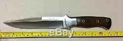 Vintage Al Mar Model 3005.6 Sere Fighting Dagger Knife Micarta Handle Sheath