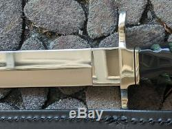 Vintage Buck 103 Knife Dagger 100 Years With Gold Etched Rendering 434 of 1000