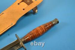 Vintage C. I. Model 514 Japan Fairbairn Sykes Commando Combat Dagger Knife