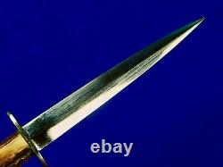 Vintage Custom British English Scottish Fairbairn Sykes Fighting Knife Dagger