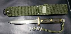 Vintage EK Commando Dagger Knife Richmond VA, Excellent