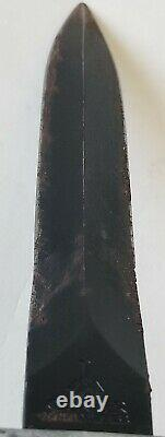 Vintage GERBER USA GUARDIAN II Commando Combat Fighting Dagger Knife with Sheath