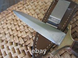 Vintage Gerber Mark I Presentation Dagger, Boot knife Low #003085