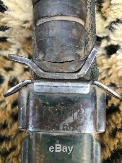 Vintage H. Utica US M3 Military Trench Fighting Knife Dagger Combat Blade