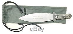 Vintage Military Boker Solingen Applegate Fairbarn Combat Smatchet Dagger Knife