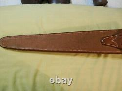 Vintage Randall knife 13 12 Rough back Smooth button leather Arkansas Toothpick
