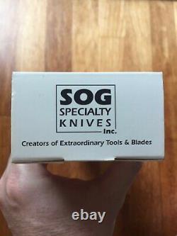 Vintage SOG S25 Desert Dagger knife kydex sheath, RARE, MINT condition